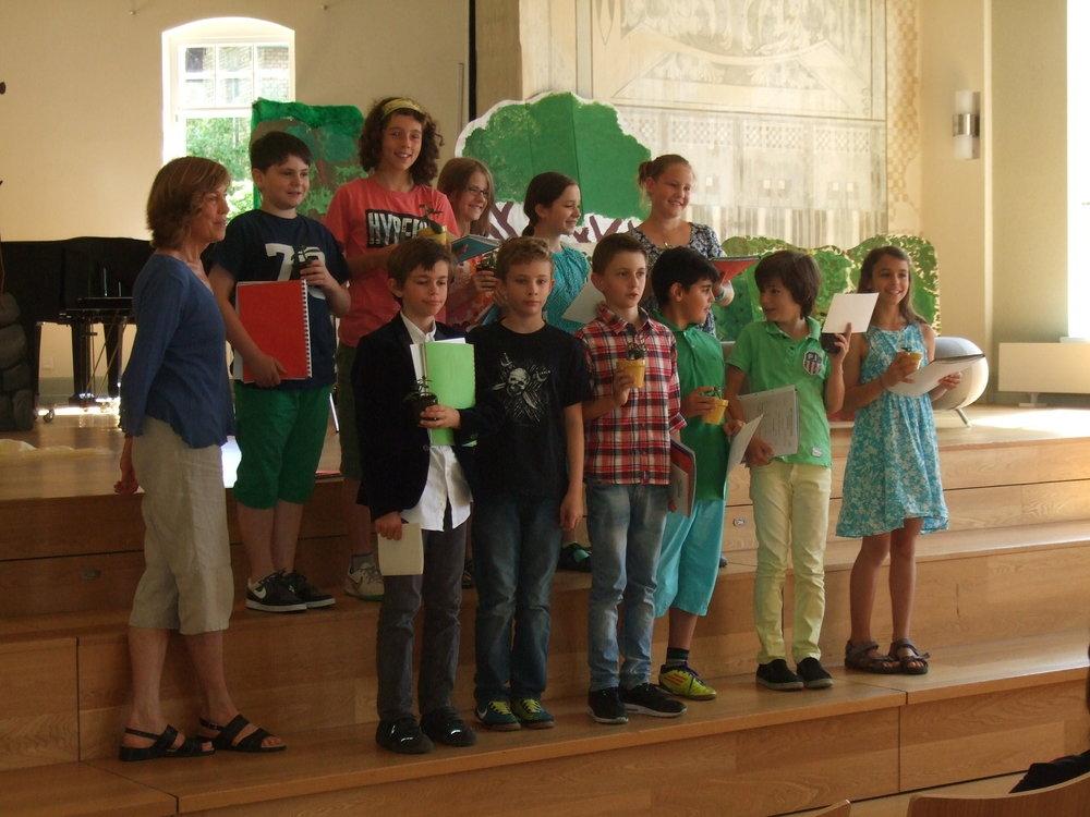 Verabschiedung der 4.Klasse am 23.Juli im Turnergarten